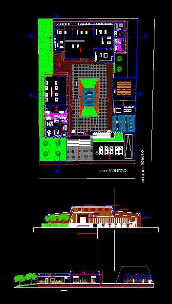museum  dwg design plan  autocad designs cad