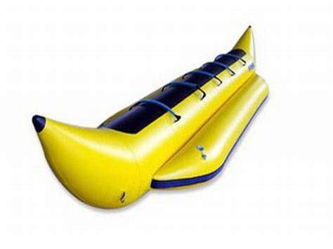 Inflatable Wet Banana Boat,Blow Up Boats For Sale,Water