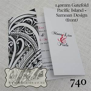 pacific island samoan wedding invitation design 740 With wedding invitations printing auckland