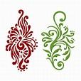 Damask Pattern Cuttable Design