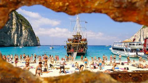 Zakynthos Navagio Beach Shipwreck Greece 2016 Youtube