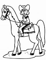 Horse Cowgirl Coloring Pages Cowboy Cowgirls Cowboys Indian Horses Indians Cow Printactivities Coloringpages Printables Sitting Coloringtop sketch template