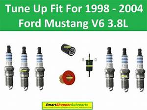 Spark Plugs  Air Fuel Oil Filter Tune Up Fit For 1998