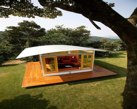 eco sustainable kit homes inexpensive prefab home plans