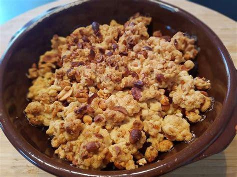 recette de crumble salé recettes de potimarron et crumble