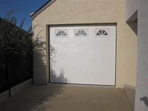 porte de garage boreal ouvertures le hezo vannes 56 With porte de garage enroulable avec portes de services pvc