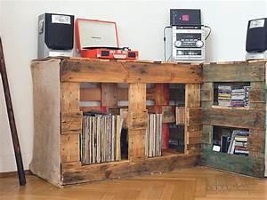 Meuble Hifi Bois : meuble hifi palette ~ Voncanada.com Idées de Décoration