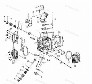 Polaris Atv 2010 Oem Parts Diagram For Engine