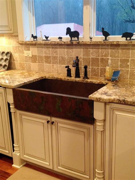 kitchen copper sinks best 25 apron sink kitchen ideas on apron 3415