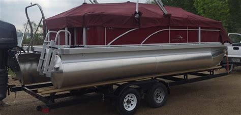 Boat Trailer Guide Extension by About Tandem Axle Pontoon Trailers Pg 2