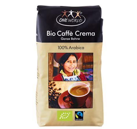 bio und fair trade kaffee von der aldi eigenmarke
