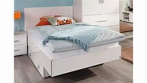 Jugendbett Weiß 90x200 : futonbett manja jugendbett wei hochglanz 90x200 cm ~ Orissabook.com Haus und Dekorationen