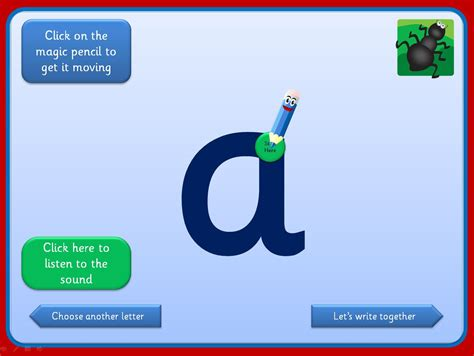 interactive letter formation activities   suitable