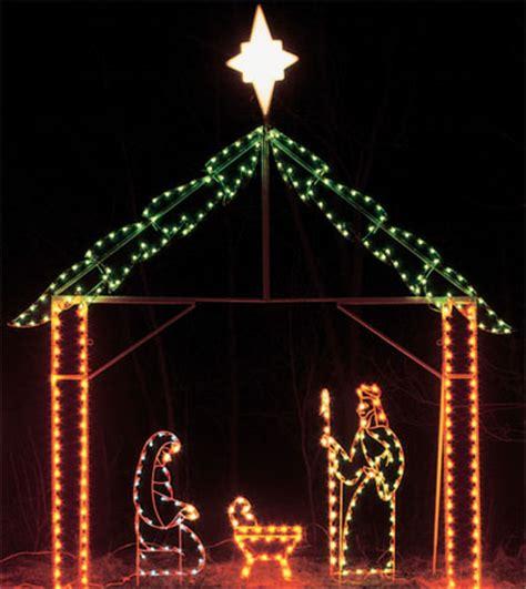 led 5 nativity set c7 bulbs 1018gml 3 450