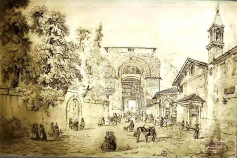 Porta In Firenze by Firenze Veduta Dall Interno Di Porta San Piero Gattolini
