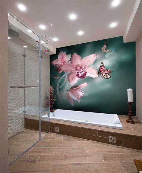 papiers peints salle de bains papier peint pour salle de bain 45 id 233 es magnifiques