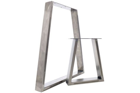 replacement dining room table legs table bench pedestal legs striking trapezium design