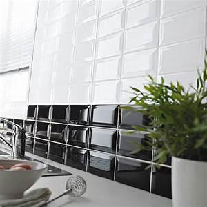 Faience Metro Blanc : carrelage mural castorama ~ Farleysfitness.com Idées de Décoration