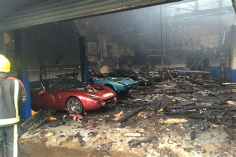 Luxury Cars Destroyed In Stourbridge Garage Fire