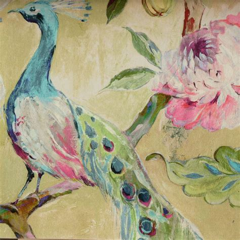 Bird Wallpaper Home Decor  Custom Vintage Wallpaper