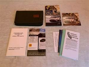 2015 Jeep Compass Owners Manual User Guide Book Set  U0026 Case