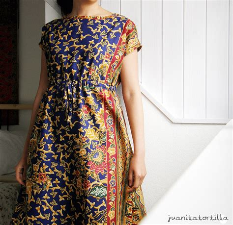 batik     dress sewing projects