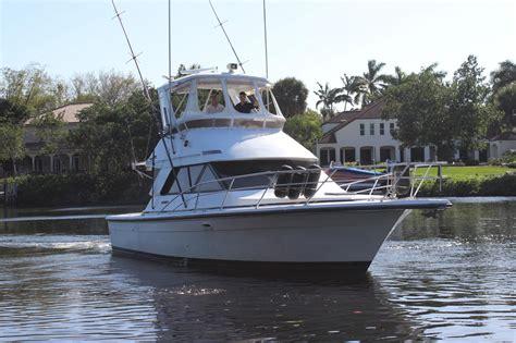 Fishing Boat For Sale Phoenix 1991 used phoenix 38 sfx convertible fishing boat for sale
