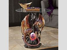Red Dragon Table from Seventh Avenue D6738543