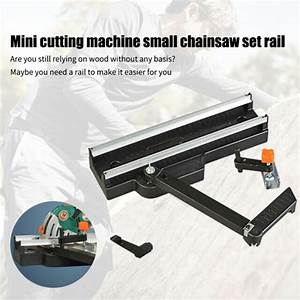 415mm Manual Circular Saw Ceramic Guide Rail Cutting Tool