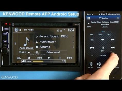 kenwood remote app setup  android   multimedia