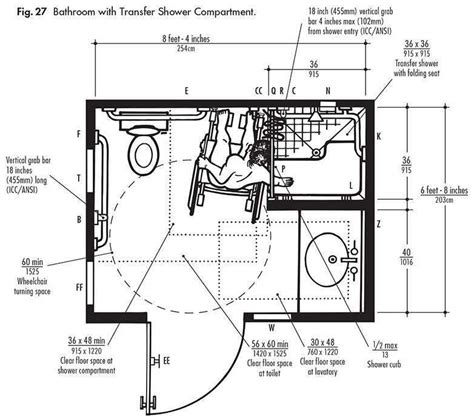 Assisted Bathroom Dimensions by Accessible Bathroom Dimensions Yahoo Image Search