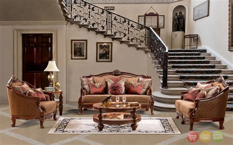 14 Traditional Style Home Decor Ideas That Are Still Cool: Luxurious Traditional Style Formal Living Room Set HD-904