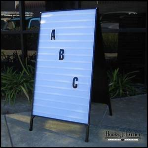portable a frame changeable letter folding signs With outdoor signs with removable letters