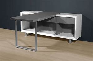 Schreibtisch Weiß Grau : fehler ~ Frokenaadalensverden.com Haus und Dekorationen