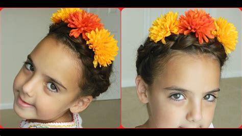 frida kahlo dutch braid bonita hair  youtube