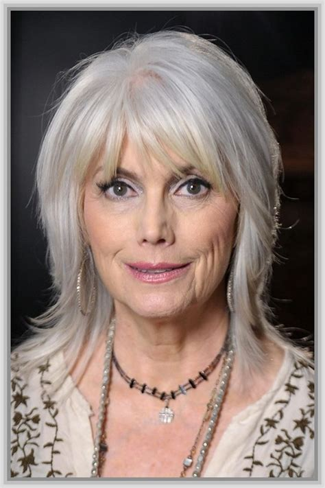 hairstyles for thin fine hair over 60 Gorgeous gray hair