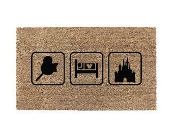 mickey mouse doormat no place like home disney doormat mickey mouse ears