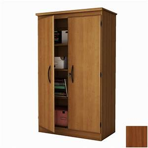 Shop South Shore Furniture Morgan Cherry 4-Shelf Office Cabinet at Lowes com