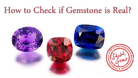 How To Check If Gemstone Is Real  Gem Testing Lab, How To