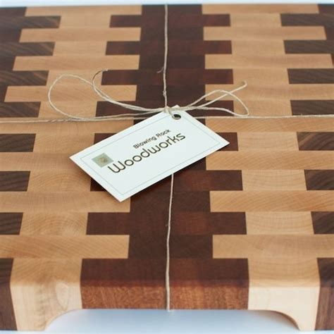 Buy a Hand Made Walnut And Maple End Grain Cutting Board