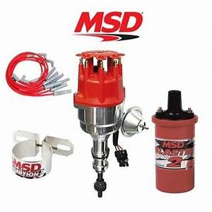 Msd 9902 Ignition Kit Ready To Run Distributor  Wires  Coil