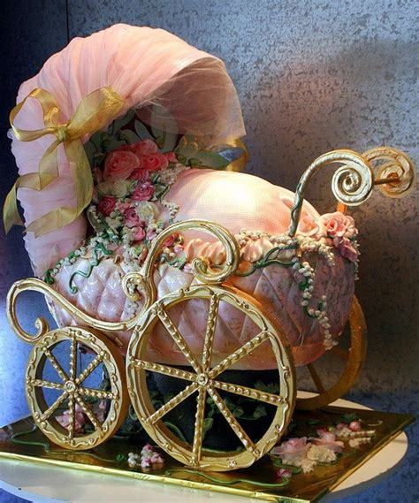 ideas  baby carriage cake  pinterest