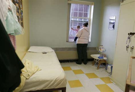prison nurseries spark debate  letting inmate moms