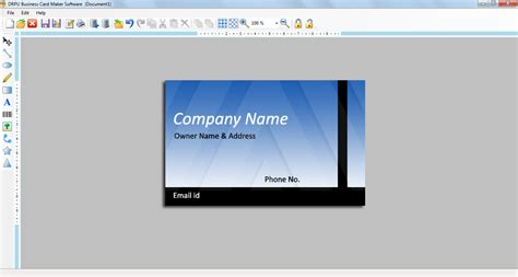 business cards maker software image custom personal