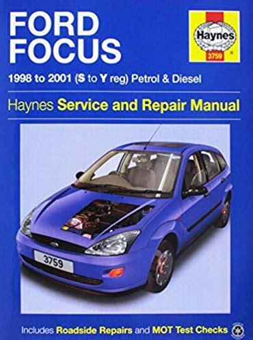 ford focus ls diesel   haynes service  repair