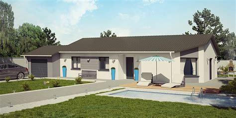modele de maison plain pied moderne demeures caladoises collection tonga moderne maison de plain pied