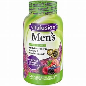 Vitafusion Men U0026 39 S Gummy Vitamins  150 Count Multivitamin For Men - Walmart Com