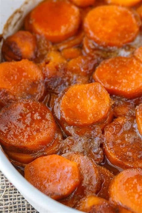 candied sweet potatoes recipe candied sweet potatoes