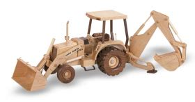 hoe tractor   woodworking pattern