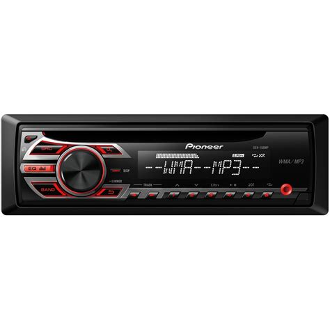 Car Radio With Aux by Pioneer Deh 150mp Cd Mp3 Wma Car Stereo Receiver With Aux In